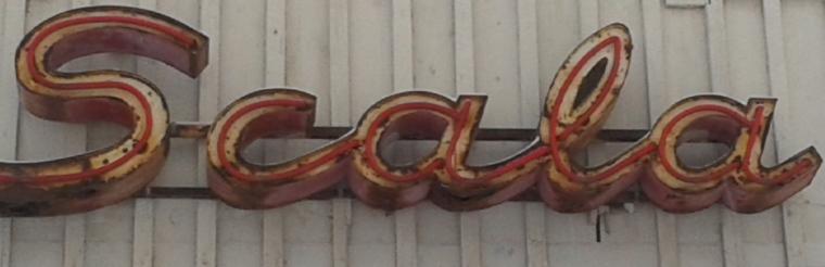 Scala-skylt